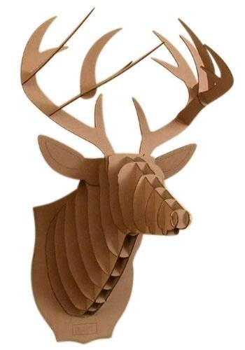 Popular Woodworking Magazine June 2013 Plywood Reindeer Head Free